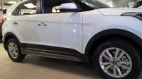 Накладка на пороги на Hyundai Creta