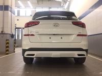 Накладка на задний бампер на Hyundai Tucson 2019