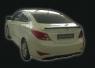 Обвес на Hyundai Solaris