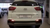 Накладка на задний бампер на Hyundai Creta