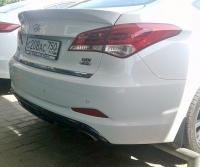 Спойлер на Hyundai i40