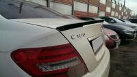 Спойлер на Mercedes-Benz С-class W204