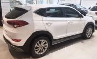 Накладки на пороги на Hyundai Tucson