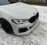 Юбка переднего бампера (Сплиттер) на BMW G30 рест